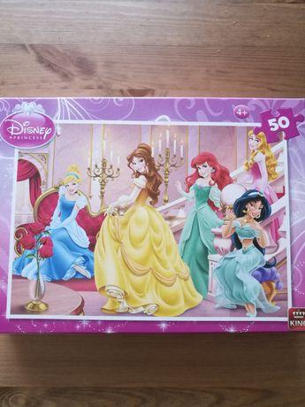 Puzzle disney ksieżniczki