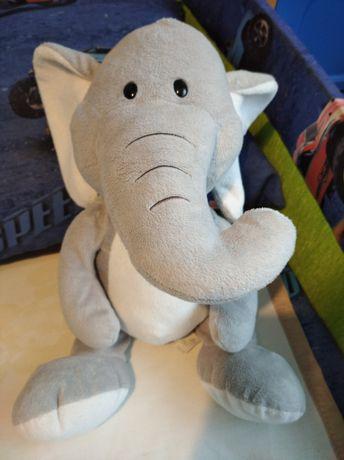 Słoń szary 40cm.