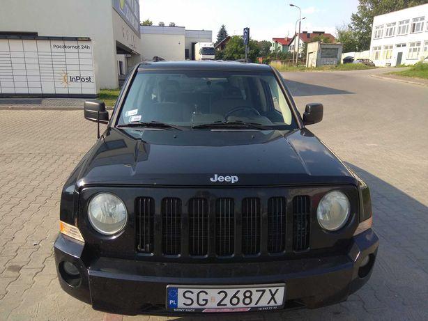 Jeep Patriot 2.4 benzyna +gaz LPG 2007 4x4 automat 170 KM klima