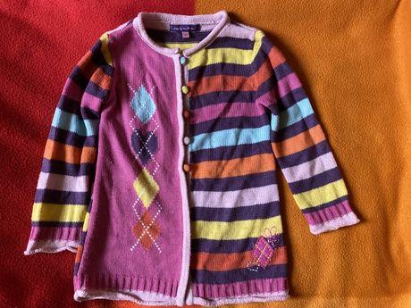 Sweterek rozpinany 98cm 3 lata