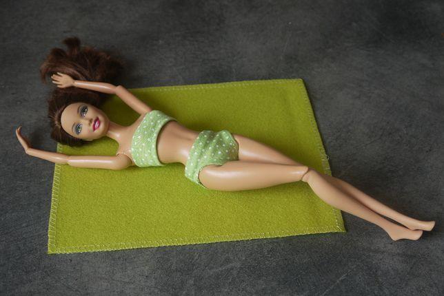 Strój kąpielowy dla lalek typu Barbie