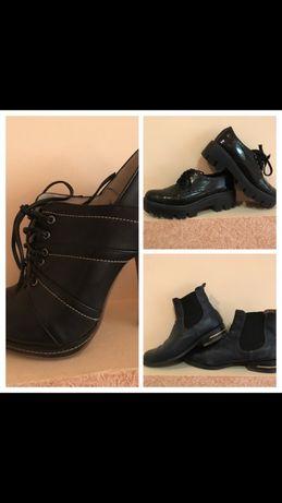 Туфли ботинки на платформе