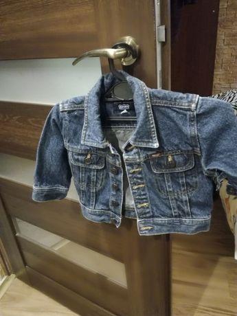 Kurteczka jeansowa r 80