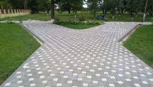 Укладка тротуарной плитки и благоустройство