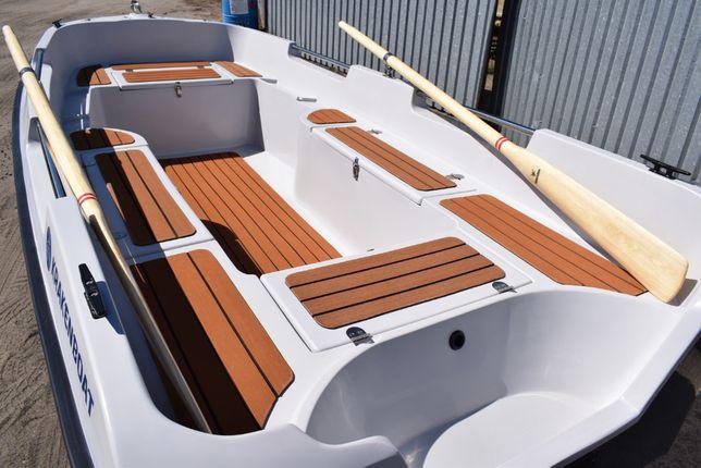 Łódź Wędkarska Rekreacyjna łódka sportowa producent Kraken 380