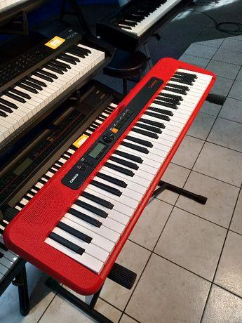 Keyboard - Casio CT-S200 RD - 5 lat gwarancji!!! (RAG.WRO.)