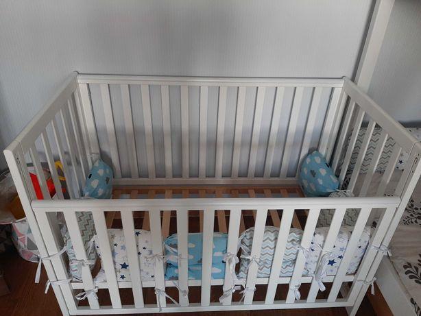 Кроватка детская +матрац  TM Veres