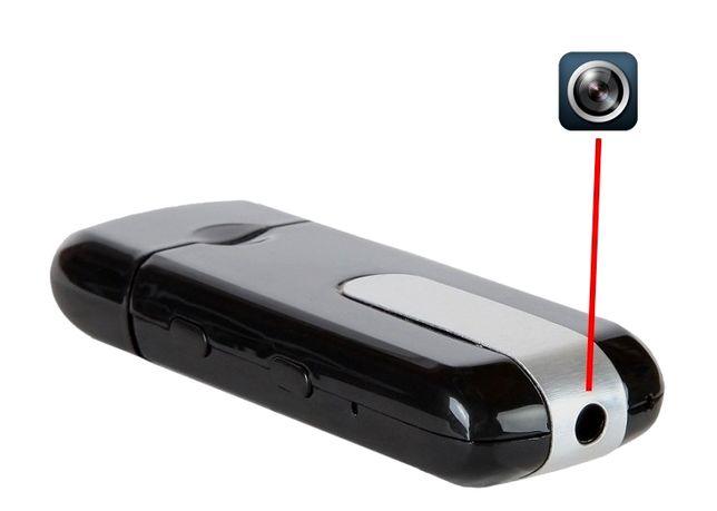Pendrive USB mini kamera z detekcją ruchu podsłuch dyktafon