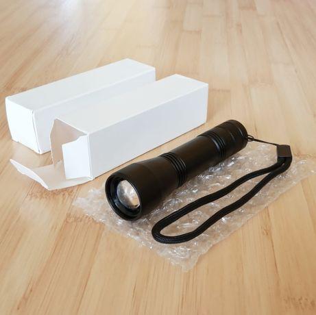NOWA latarka UV zoom - na akumulator - bursztyn klimatyzacja -WYSYŁKA
