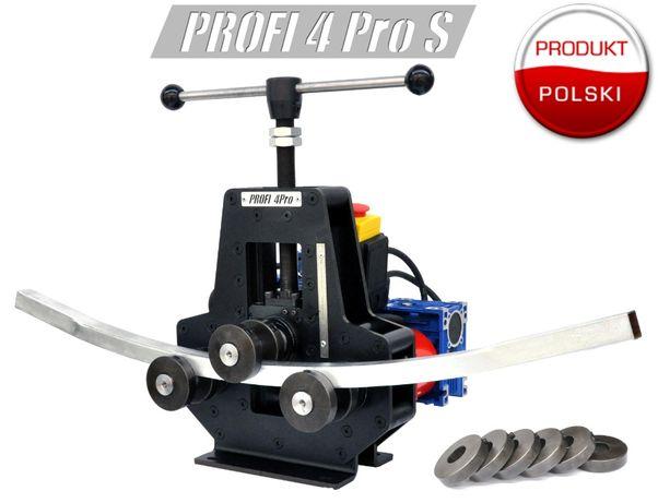 Giętarka walcarka PROFI 4S PRO + silnik do profili, płaskowników, rur