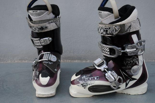 buty narciarskie damskie Atomic Live Fit Wide rozmiar 37- 38 (24 cm