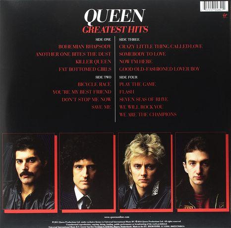 QUEEN - Greatest Hits - 4 Płyty WINYLowe