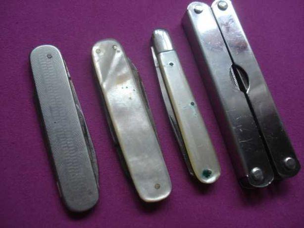 Scyzoryk scyzoryki sygnowane masa perłowa multitol