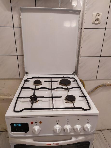 Kuchenka gazowa z piekarnikiem elektrycznym Mastercook