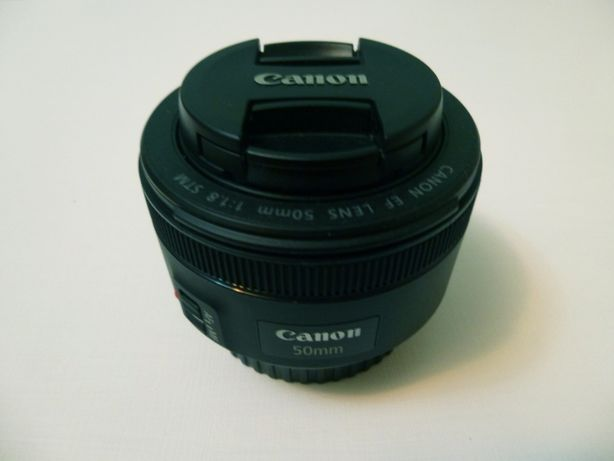 Canon EF LENS 50mm 1:1,8 STM + бленда