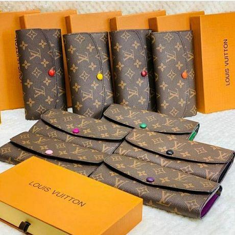 Кошелек Louis Vyitton Emile клатч гаманець кошелек женский сумочка виз