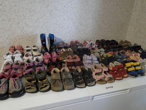 Обувь детская, разные размеры, Германия.