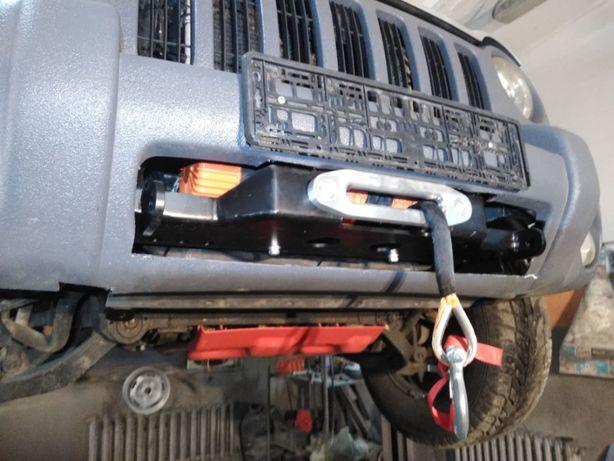 Płyta pod wyciągarkę Jeep Cherokee KJ