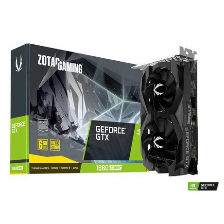 Placa Gráfica Zotac Gaming GeForce GTX 1660 SUPER Twin Fan 6GB