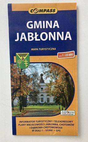 Mapa turystyczna - Gmina Jabłonna
