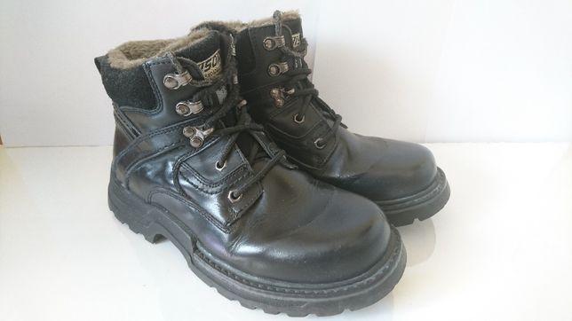 Buty zimowe skórzane 42 OKAZJA!!!