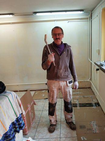 Malowanie, szpachlowanie, tynkowanie, remonty, docieplenia, brukarstwo