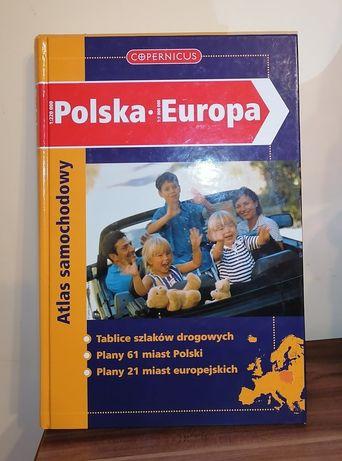 Atlas samochodowy Polska-Europa COPERNICUS