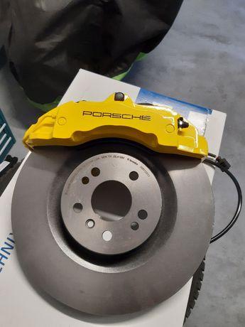 Zestaw hamulcowy, Big Brake, Porsche ZR18, Brembo, Golf 7 350mm