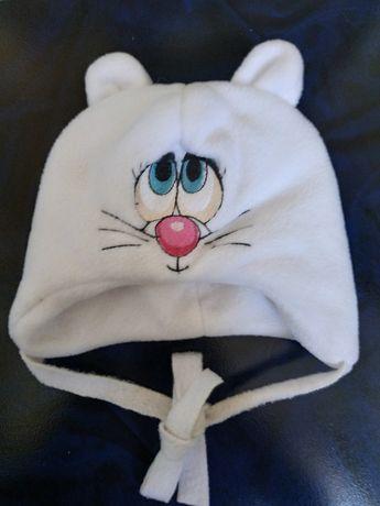 Зимняя шапочка 0-3мес