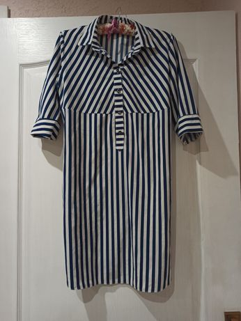 Платье рубашка лёгкое летнее