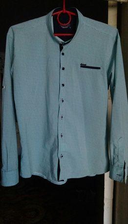 Рубашка на мальчика 11-12 лет