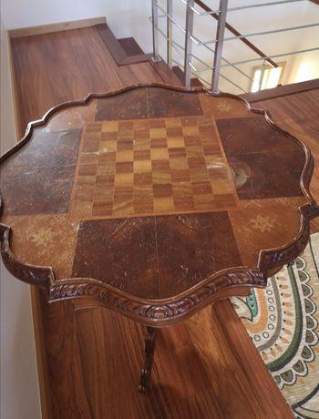 Mesa de jogo xadrez e Damas