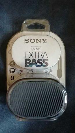 Nowy głośnik Sony SRS -XB01 EXTRA BASS czarny z Bluetooth