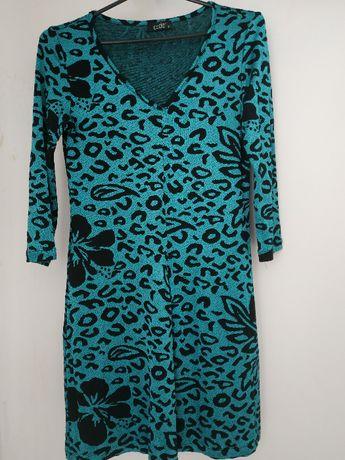 Sprzedam turkusową sukienkę