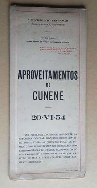 aproveitamentos do cunene / ministério de ultramar