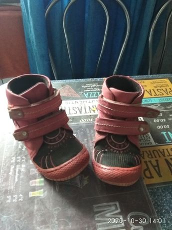 Продам бу деми ботиночки k-pafi 27 размер (16 см стелька)
