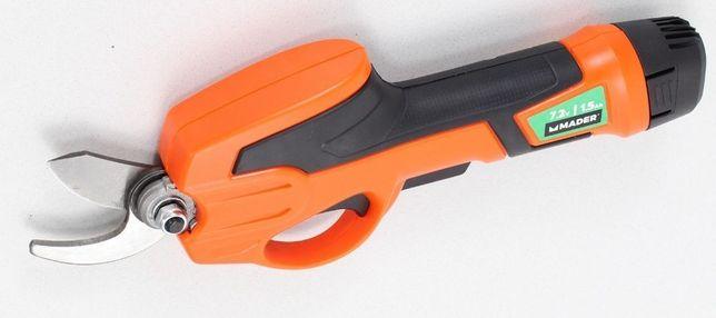 Tesoura de Podar Elétrica - Bateria 7.2V, 1.5Ah - Corte 25mm - MADER®
