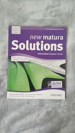 """Podręcznik """"New Matura Solutions Intermediate Student's Book"""""""