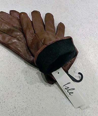 Перчатки кожаные,бренд Lale,новые,оригинал,размер ml