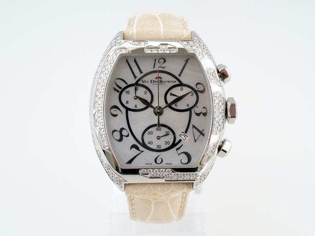 Женские новые часы Van Der Bauwede Diamond Magnum Commander 40 x 48мм