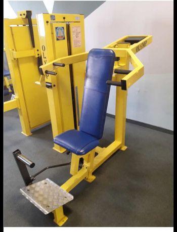 Wyposazenie silowni Maszyny Olymp Hes