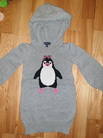 sweterek dla dziewczynki 2-3 lata