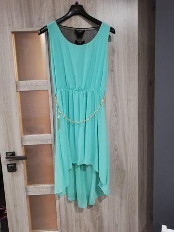 Sukienka miętowa xs/s