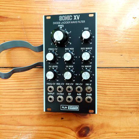 AJH Sonic XV eurorack modular syntezator filtr make noise doepfer moog