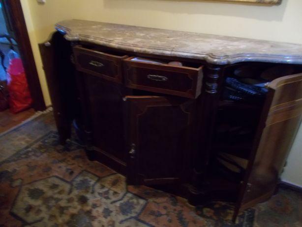 Movel entrada sapateira consola madeira marmore