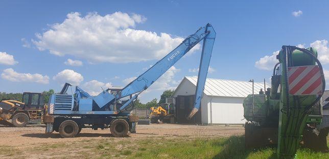 Koparka przeładunkowa Fuchs 350, 35 ton na chodzie