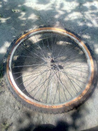 Передние колесо полностью в зборе