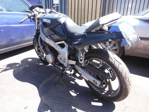 Motocykl Yamaha FZR 600 3HE nakładka zbiornika, części FV transport