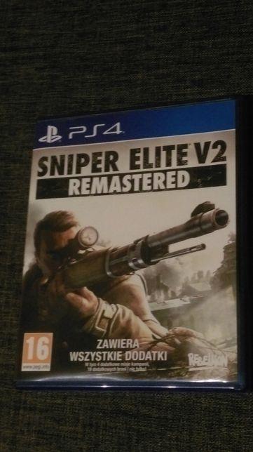 Sniper Elite V2 Remastered PS4 (bardzo dobry stan płyty)