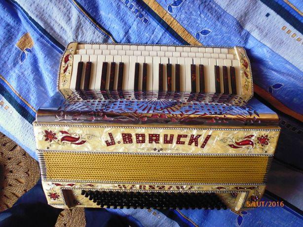 Akordeon harmonia trzyrzędowa Borucki